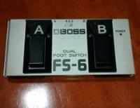 Pedal Footswitch doble Boss FS-6 segunda mano  Chile
